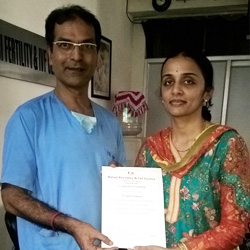 Gynaecologist From Hyderabad .september 2016 Batch